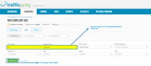 """Select """"All"""" in the BLP Status drop down menu and """"Rejected"""" in the Review State drop down menu."""