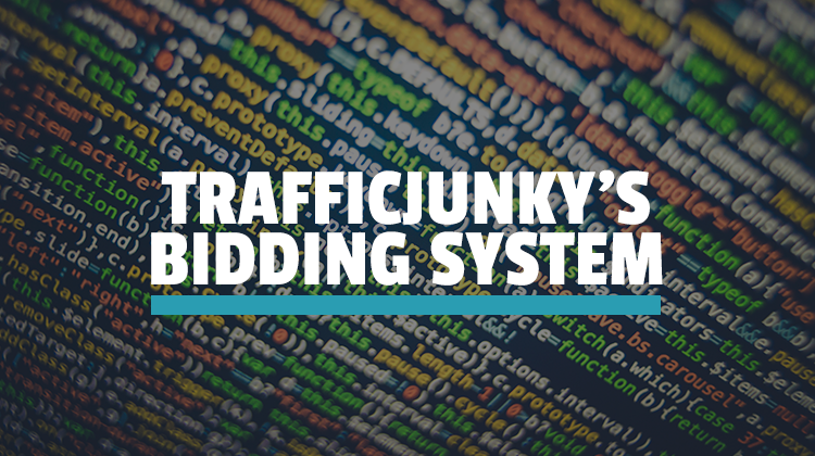 trafficjunky's bidding system