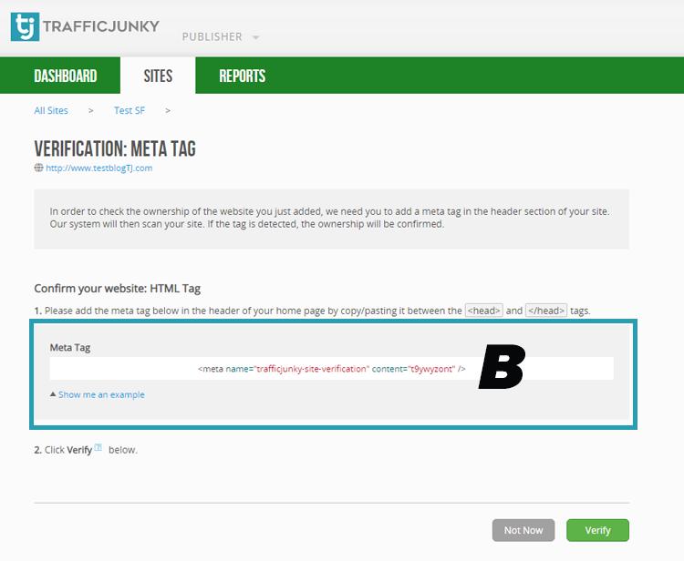 how to meta tag article b