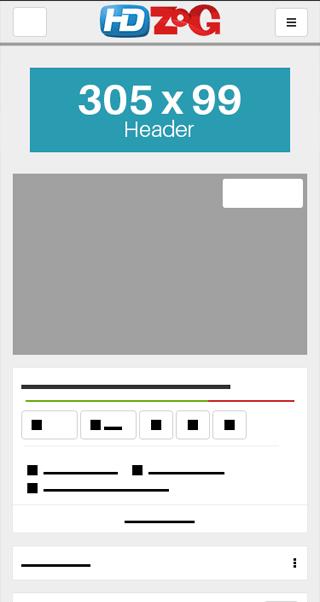HDZog Site Preview
