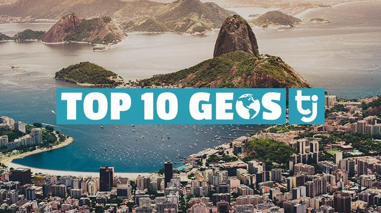top 10 geos brazil