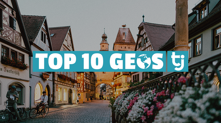 top 10 geos germany