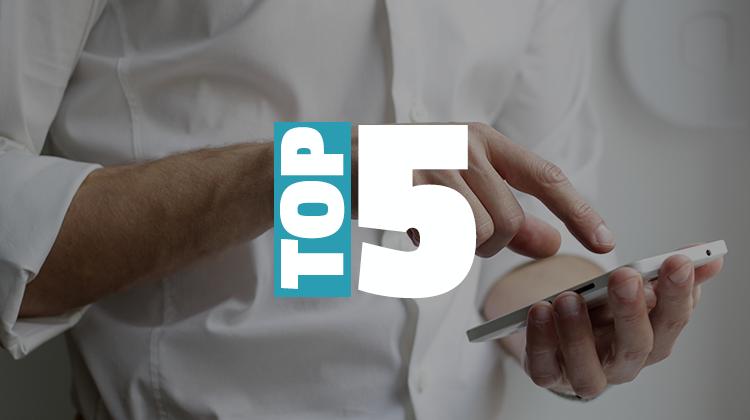 top 5 mobile spots