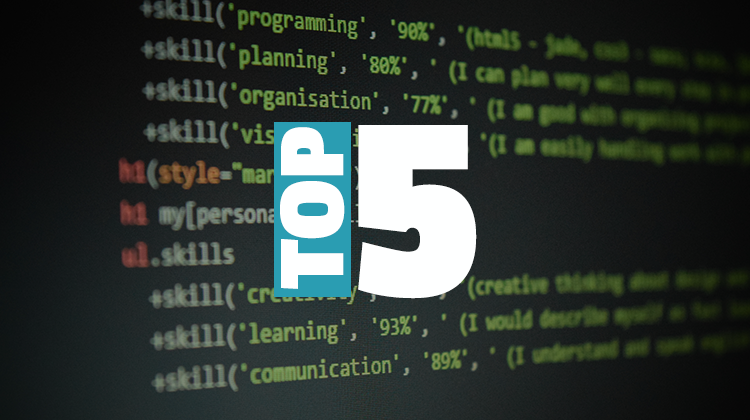 top 5 blogs daily