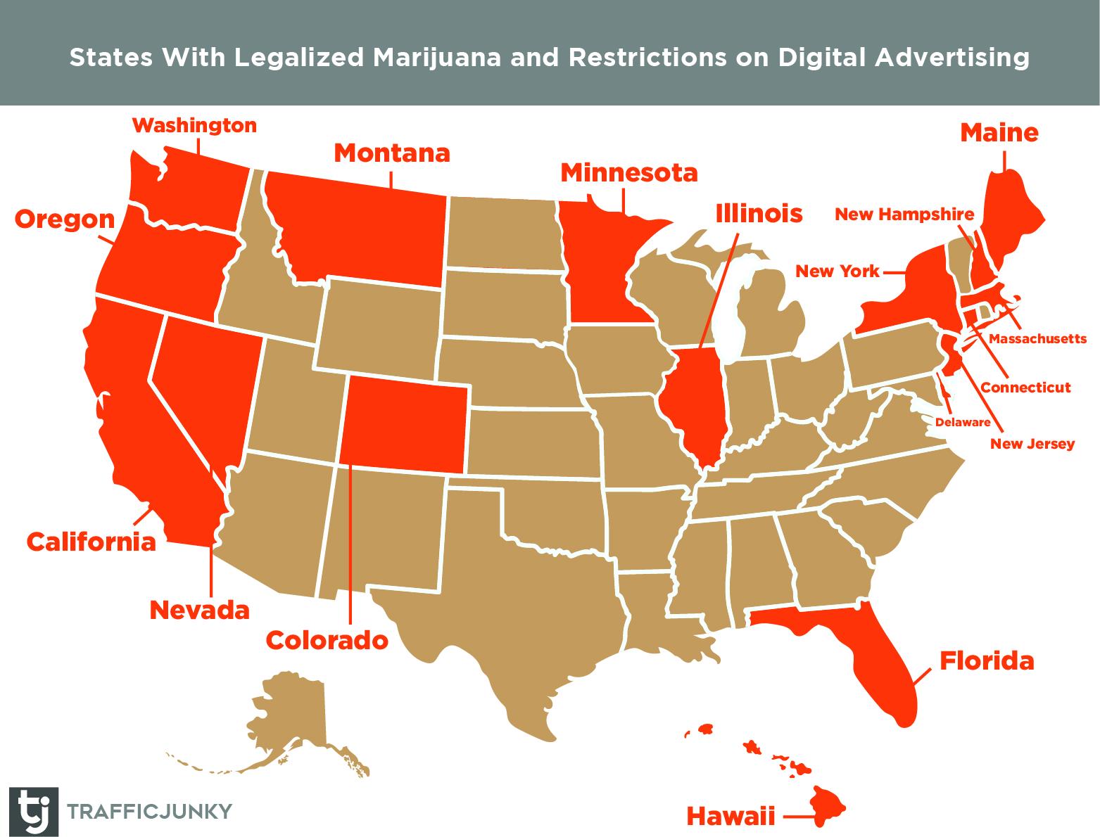 marijuana advertising restrictions