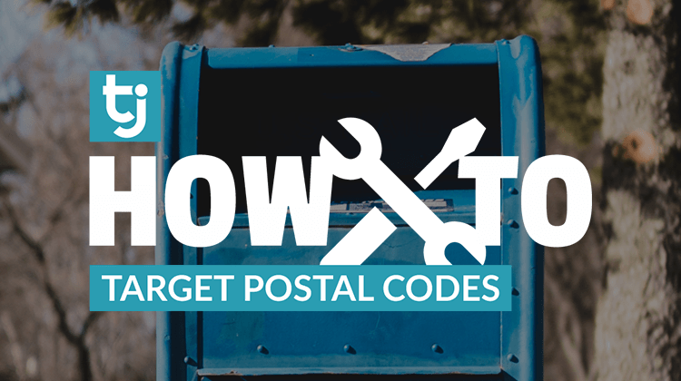 how to postal code targeting