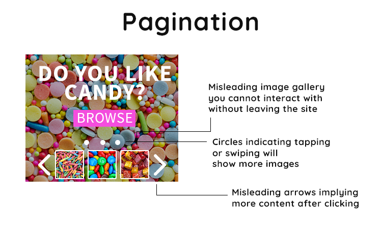 pagination abusive
