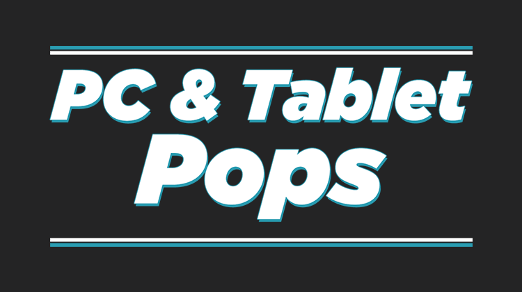 pc and tablet pop