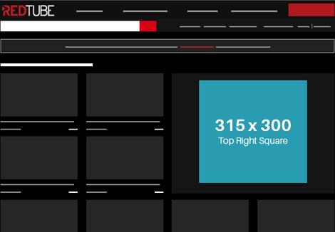 Redtube Tablet- TopRight Square