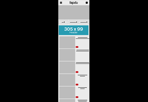 Fapdu Mobile – Header