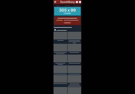Spankbang Mobile - Header