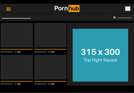 Pornhub Tablet- Top Right Square
