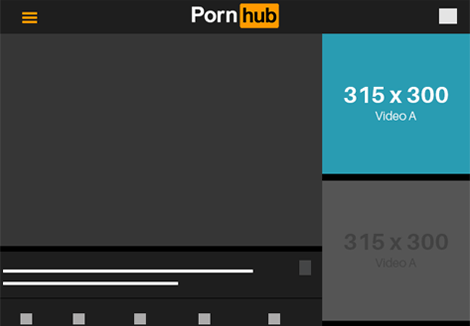 Pornhub Tablet- Video A