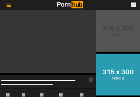 Pornhub Tablet- Video B
